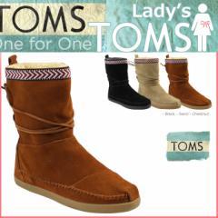 TOMS レディース トムス シューズ ブーツ TOMS SHOES トムズ SUEDE TRIM WOMENS NEPAL BOOTS トムズシューズ