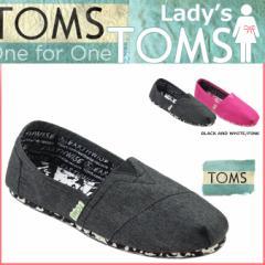 TOMS レディース トムス シューズ スリッポン TOMS SHOES トムズ EARTHWISE PLUSFOAM WOMEN'S CLASSICS トムズシューズ