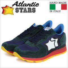 アトランティックスターズ スニーカー メンズ Atlantic STARS アンタレス ANTARES LNR グリーン ネイビー