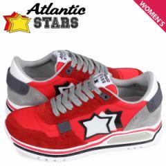 アトランティックスターズ Atlantic STARS スニーカー レディース シャカ SHAKA レッド CF-J04 [4/3 新入荷]