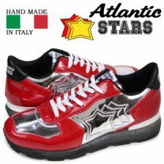 アトランティックスターズ スニーカー メンズ Atlantic STARS アンタレス ANTARES GAR-32B レッド