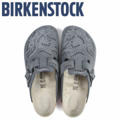 ビルケンシュトック BIRKENSTOCK ボストン サンダル メンズ BOSTON ビルケン 普通幅 グレー [3/11 新入荷]