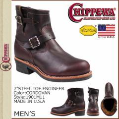 チペワ CHIPPEWA 7 INCH STEEL TOE ENGINEER ブーツ 7インチ スティールトゥ エンジニア ブーツ 1901M11 Eワイズ メンズ