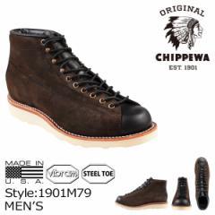 チペワ CHIPPEWA 5-IN 2-TONE SUEDE BRIDGEMEN ブーツ 5インチ 2トーン スエード ブリッジマン 1901M79 EEワイズ メンズ