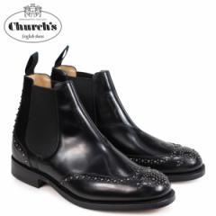 チャーチ Churchs 靴 ケッツビー 81 ブーツ サイドゴア ショートブーツ メンズ KETSBY 81 MET POLISHED BINDER ETB009 ブラック