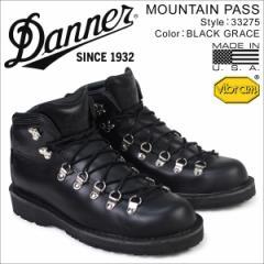 ダナー Danner ブーツ MOUNTAIN PASS 33275 MADE IN USA メンズ ブラック