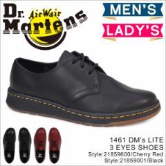 ドクターマーチン 3ホール 1461 メンズ レディース Dr.Martens DMs LITE CAVENDISH 3 EYE SHOE 21859001 21859600