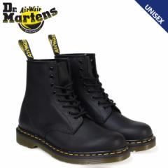 ドクターマーチン 8ホール 1460 ブーツ メンズ レディース Dr.Martens GREASY 8EYE BOOT ブラック R11822003