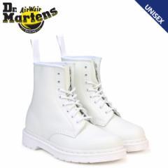 ドクターマーチン 8ホール 1460 コルベット ブーツ メンズ レディース Dr.Martens MONO 8 EYE BOOT ホワイト R14357100