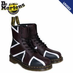 ドクターマーチン 8ホール メンズ レディース Dr.Martens ブーツ UNION JACK PASCAL BRIT 8 EYE BOOT R22774410 ネイビー