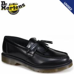 ドクターマーチン ローファー タッセル メンズ レディース Dr.Martens ADRIAN TASSEL LOAFER ブラック R24369001