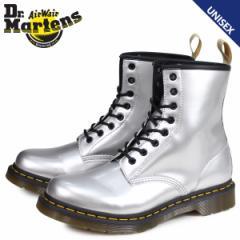 ドクターマーチン Dr.Martens 8ホール 1460 ブーツ メンズ レディース VEGAN CHROME シルバー R24865040 [4/24 新入荷]