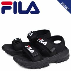 FILA フィラ トレーサー サンダル スポーツサンダル メンズ レディース 厚底 RAY TRACER SD ブラック FS1SIB2011X-BBK 5/15 新入荷