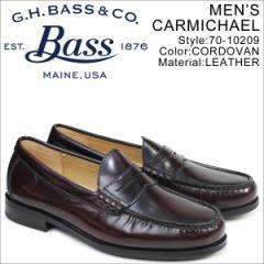 G.H. BASS ローファー ジーエイチバス メンズ ペニー CARMICHAEL PENNY LOAFER 70-10209 靴 ブラウン