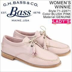 G.H. BASS ジーエイチバス ローファー レディース タッセル WINNIE TIE WEEJUNS 71-22871 ピンク