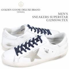 ゴールデングース Golden Goose スニーカー メンズ スーパースター SNEAKERS SUPERSTAR ホワイト G32MS590 TEX