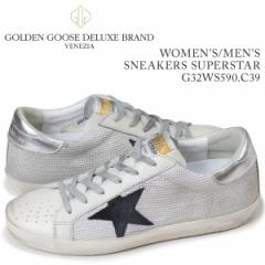 ゴールデングース Golden Goose スニーカー レディース メンズ スニーカーズ スーパースター ホワイト G32WS590 C39