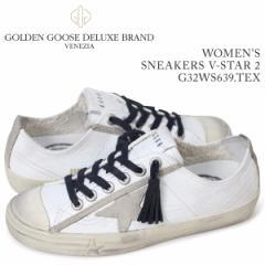 ゴールデングース Golden Goose スニーカー レディース スニーカーズ ブイスター SNEAKERS V-STAR 2 ホワイト G32WS639 TEX