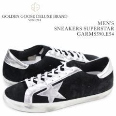 ゴールデングース Golden Goose スニーカー メンズ スーパースター SNEAKERS SUPERSTAR ブラック GARMS590 E54