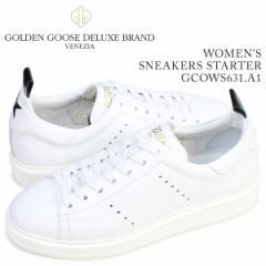 ゴールデングース Golden Goose スニーカー レディース スターター SNEAKERS STARTER イタリア製 GCOWS631 A1 ホワイト [4/19 再入荷]