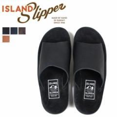アイランドスリッパ ISLAND SLIPPER サンダル メンズ スエード BULL HIDE SLIDE PBS705BH PTS705BH [4/5 追加入荷]