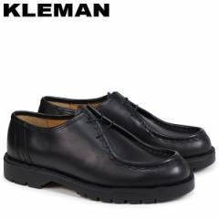 KLEMAN クレマン PADROR 靴 チロリアン シューズ メンズ TYROLEAN SHOES ブラック VA72102 [4/3 再入荷]