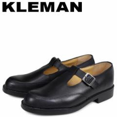 KLEMAN クレマン デイジー 靴 Tストラップ シューズ メンズ DAISY OR ブラック 黒 XA54102 [4/3 新入荷]