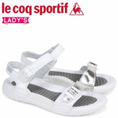 ルコック スポルティフ le coq sportif レディース サンダル LA ジュアン アクティブ 2 JUAN ACTIVE 2 ホワイト QL3LJE30WH