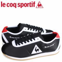 ルコック スポルティフ le coq sportif スニーカー モンペリエ メンズ MONTPELLIER ブラック QL1NGC06BW [4/2 追加入荷]
