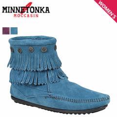 ミネトンカ MINNETONKA ダブル フリンジ サイド ジップ ブーツ DOUBLE FRINGE SIDE ZIP BOOTS レディース