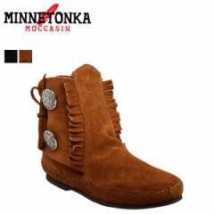 ミネトンカ MINNETONKA 2ボタン ブーツ ハードソール TWO BUTTON BOOT HARDSOLE レディース