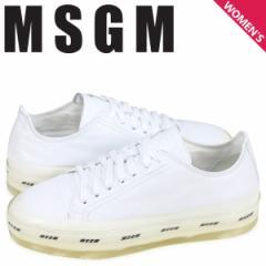 MSGM エムエスジーエム スニーカー レディース OVERSIZED LOGO SOLE ホワイト 2641MDS724 160 01