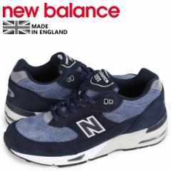 ニューバランス new balance 991 メンズ スニーカー M991NVB Dワイズ MADE IN UK ネイビー