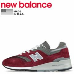 ニューバランス new balance 997 スニーカー メンズ Dワイズ MADE IN USA バーガンディ M997BR 5/22 新入荷