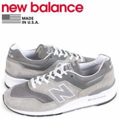 ニューバランス new balance 997 メンズ スニーカー M997GY2 Dワイズ MADE IN USA グレー