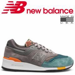 ニューバランス 997 メンズ new balance スニーカー M997NM Dワイズ MADE IN USA グレー 8/13 新入荷