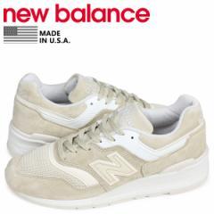 ニューバランス new balance 997 スニーカー メンズ Dワイズ MADE IN USA ベージュ M997PAB
