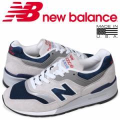 ニューバランス new balance 997 メンズ スニーカー M997WEB Dワイズ MADE IN USA グレー