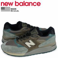 ニューバランス new balance 998 スニーカー メンズ Dワイズ MADE IN USA ブラウン M998AWA [3/11 追加入荷]