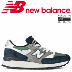 ニューバランス 998 メンズ new balance スニーカー M998NL Dワイズ MADE IN USA ネイビー 8/13 新入荷