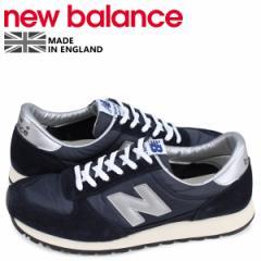 ニューバランス new balance スニーカー メンズ Dワイズ MADE IN UK ブラック 黒 MNC KSW [4/19 新入荷]