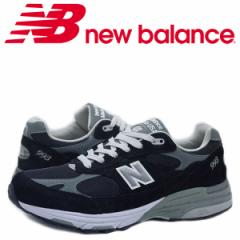 ニューバランス new balance 993 メンズ スニーカー MR993BK Dワイズ MADE IN USA ブラック [5/16 追加入荷]