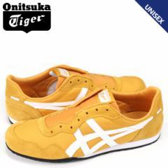オニツカタイガー Onitsuka Tiger セラーノ スリッポン SERRANO SLIP-ON メンズ レディース スニーカー 1183A057-800 イエロー