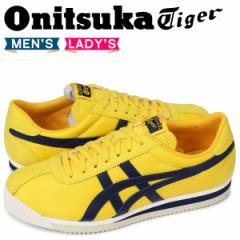 オニツカタイガー Onitsuka Tiger タイガー コルセア TIGER CORSAIR メンズ レディース スニーカー D747N-0458 イエロー