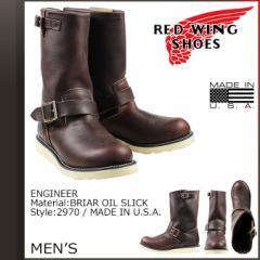 レッドウィング RED WING ブーツ エンジニア ENGINEER Dワイズ 2970 レッドウイング ワークブーツ メンズ