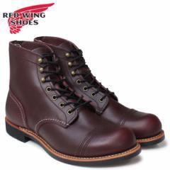 レッドウィング RED WING ブーツ ワークブーツ 6INCH IRON RANGER アイアンレンジャー Dワイズ 8119 メンズ