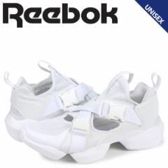 リーボック Reebok オーパス ストラップ スニーカー レディース メンズ 3D OP S-STRP ホワイト 白 CN7921 予約 4/19 新入荷