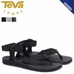 Teva テバ サンダル オリジナル レディース メンズ WOMENS ORIGINAL SANDAL ブラック トープ 黒 1003986
