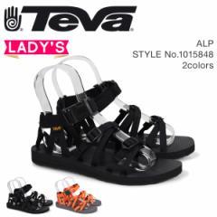 Teva テバ サンダル レディース アルプ ALP ブラック オレンジ 1015848