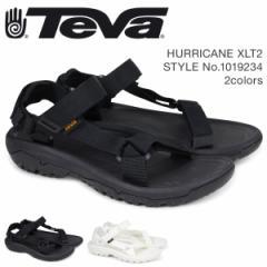 Teva テバ サンダル メンズ ハリケーン XLT2 HURRICANE ブラック ホワイト 1019234 [8/27 再入荷]